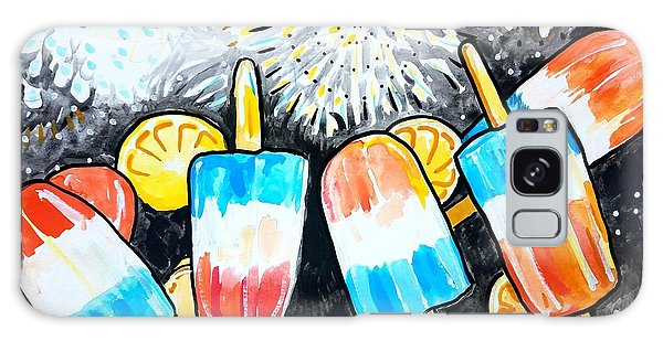 Popsicles And Fireworks Galaxy Case