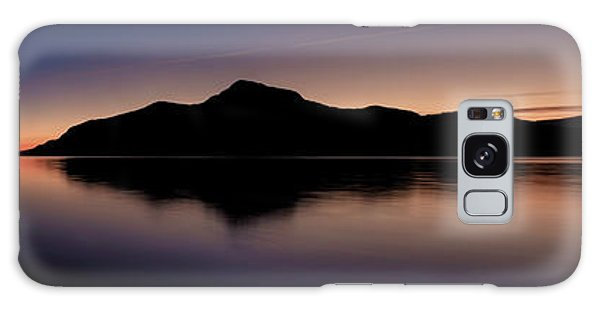 Porteau Cove Panoramic Blue Hour 2 Galaxy Case