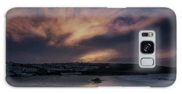 Porthmeor Sunset 4 Galaxy Case