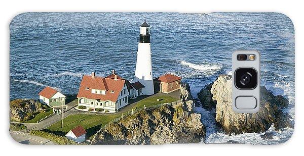 Marina Galaxy Case - Portland Head Lighthouse, Cape by Joseph Sohm