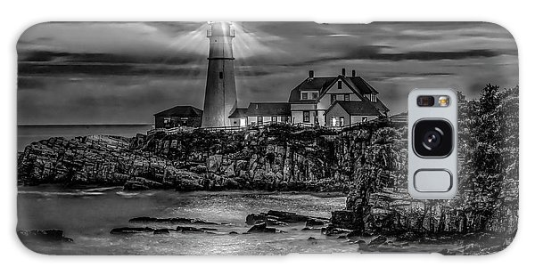 Galaxy Case featuring the photograph Portland Lighthouse 7363 by Donald Brown