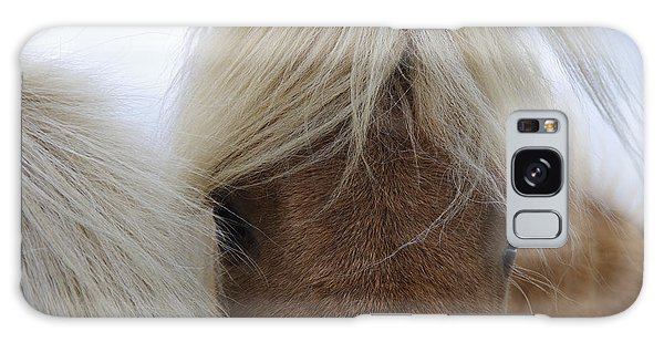Pasture Galaxy Case - Portrait Of Icelandic Horses With Long by Igor Dymov