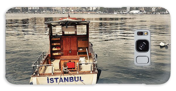 Motor City Galaxy Case - Postcard From Istanbul. Motor Boat By by Kn