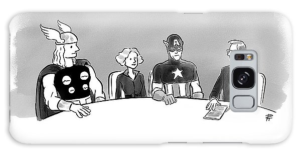 The Avengers Galaxy Case - Power Of Attorney by Pia Guerra