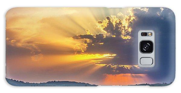 Powerful Sunbeams Galaxy Case