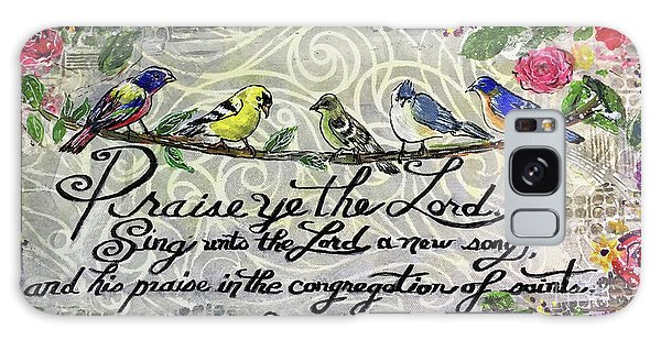 Song Birds Galaxy Case - Praise Birds by Janis Lee Colon