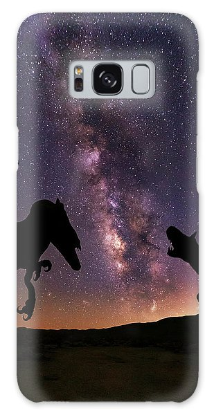 Galaxy Case featuring the photograph Pre Historic by Tassanee Angiolillo