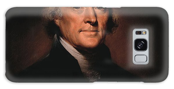 People Galaxy Case - President Thomas Jefferson  by War Is Hell Store
