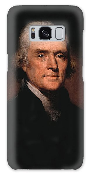 Celebrity Galaxy Case - President Thomas Jefferson  by War Is Hell Store