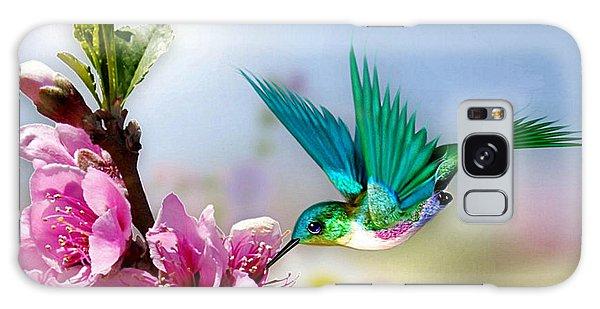 Pretty Hummingbird Galaxy Case