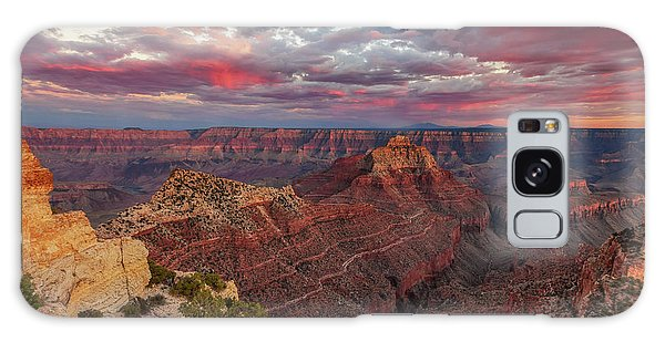 Galaxy Case featuring the photograph Pretty In Pink by Rick Furmanek