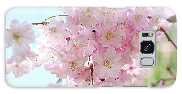 Pretty Pink Blossoms Galaxy Case