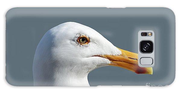 Pretty Western Gull In Profile Galaxy Case