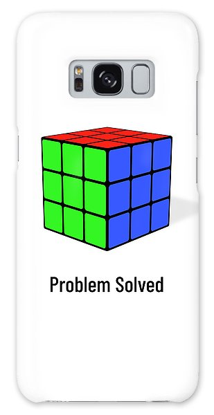 Problem Solved Galaxy Case