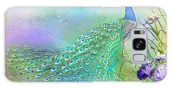 Proud Peacock Galaxy Case