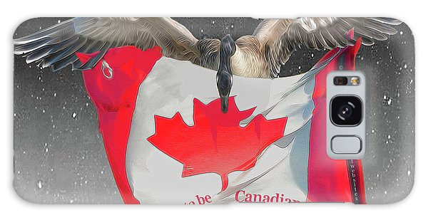 Proud To Be Canadian Galaxy Case