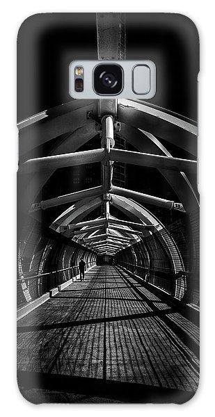 Puente De Luz Pedestrian Bridge Toronto Canada No 1 Galaxy Case