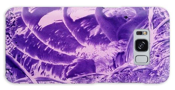 Purple Abstract, Octopus Galaxy Case