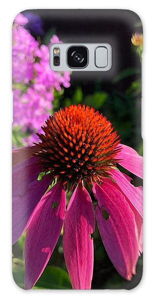 Galaxy Case featuring the photograph Purple Coneflower by Lukas Miller