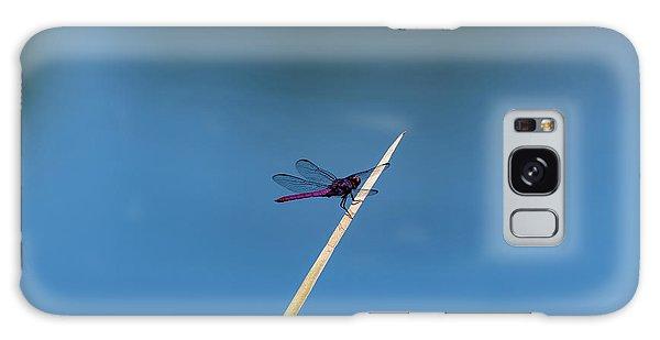 Purple Dragonfly Galaxy Case