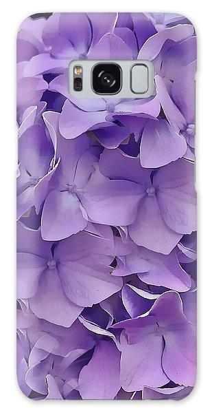 Purple Hydrangea  Galaxy Case