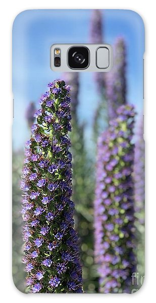 Purple Hyssop  Galaxy Case