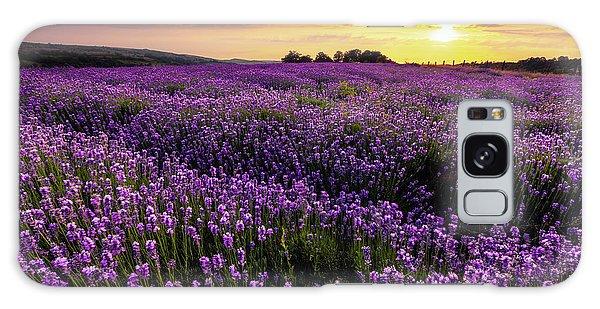 Purple Sea Galaxy Case