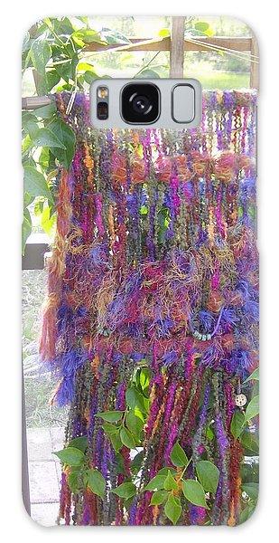 Purple Weaving Galaxy Case