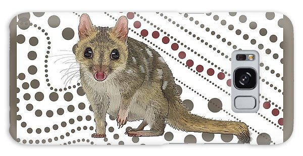 Q Is For Quoll Galaxy Case