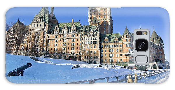 Travel Destinations Galaxy Case - Quebec City In Winter, Traditional by Vlad G