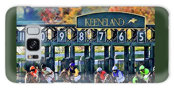 Fall Racing At Keeneland  Galaxy Case