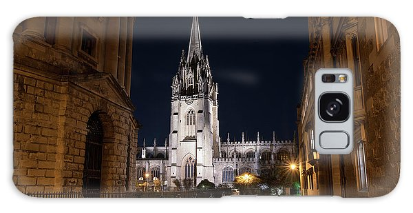 Place Of Worship Galaxy Case - Radcliffe Square Oxford At Night by Tim Gainey