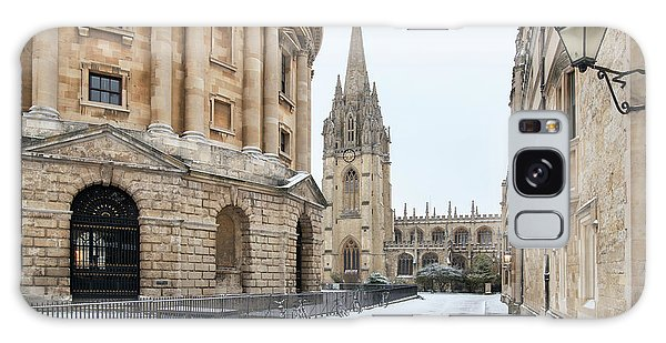 Place Of Worship Galaxy Case - Radcliffe Square Oxford In Winter by Tim Gainey