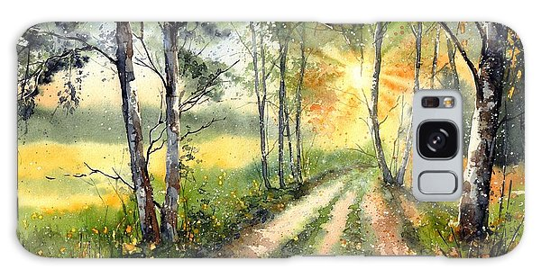 Bloom Galaxy Case - Radiant Sun On The Autumn Sky by Suzann Sines