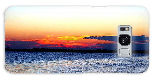 Radiant Sunset Galaxy Case