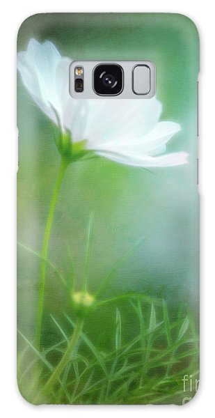 Radiant White Cosmos In The Evening Light Galaxy Case