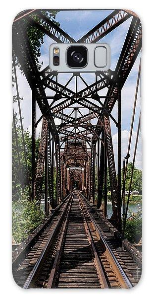 Railroad Bridge 6th Street Augusta Ga 1 Galaxy Case