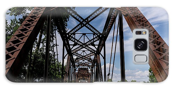 Railroad Bridge 6th Street Augusta Ga 2 Galaxy Case