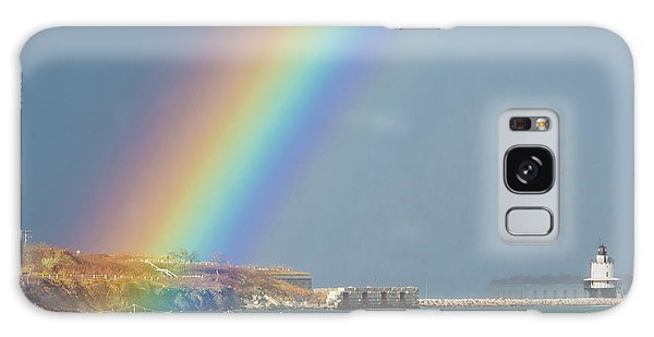 Rainbow At Spring Point Ledge Galaxy Case