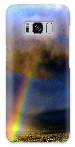 Rainbow During Sunset Galaxy Case
