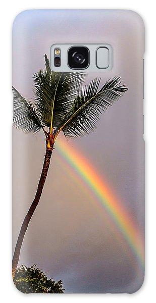 Rainbow Just Before Sunset Galaxy Case