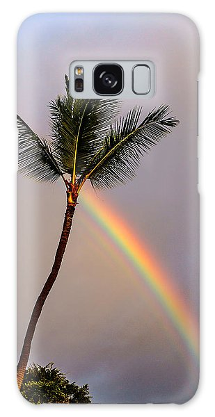 Rainbow Just Before Sunset Galaxy Case