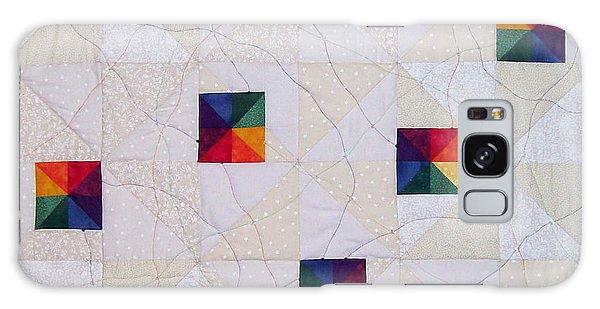 Rainbow Pinwheel Galaxy Case