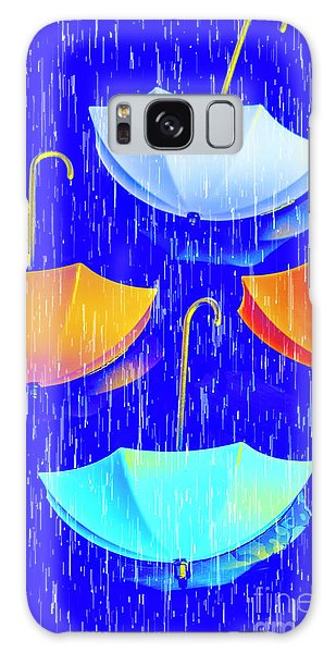 Weathered Galaxy Case - Rainy Day Parade by Jorgo Photography - Wall Art Gallery