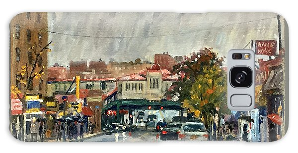 Rainy Morning 231st Street The Bronx Galaxy Case