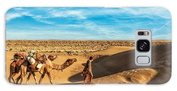 Scenery Galaxy Case - Rajasthan Travel Background - India by Dmitry Rukhlenko