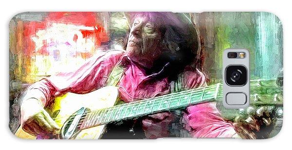 Folk Singer Galaxy Case - Ramblin Jack Elliott by Mal Bray