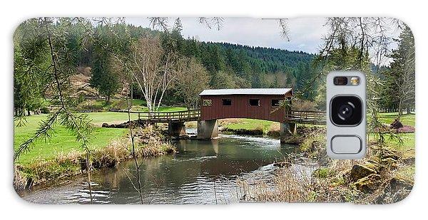 Ranch Hills Covered Bridge Galaxy Case