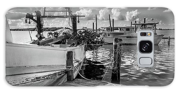 Galaxy Case featuring the photograph Ready To Go In Bw by Doug Camara