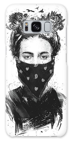 People Galaxy Case - Rebel Girl by Balazs Solti